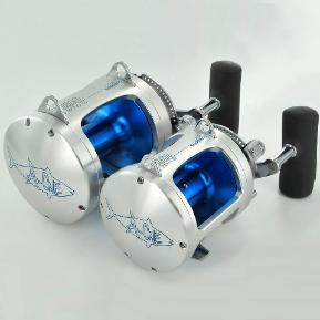 Custom fishing reel anodizing and engraving Teaser reels